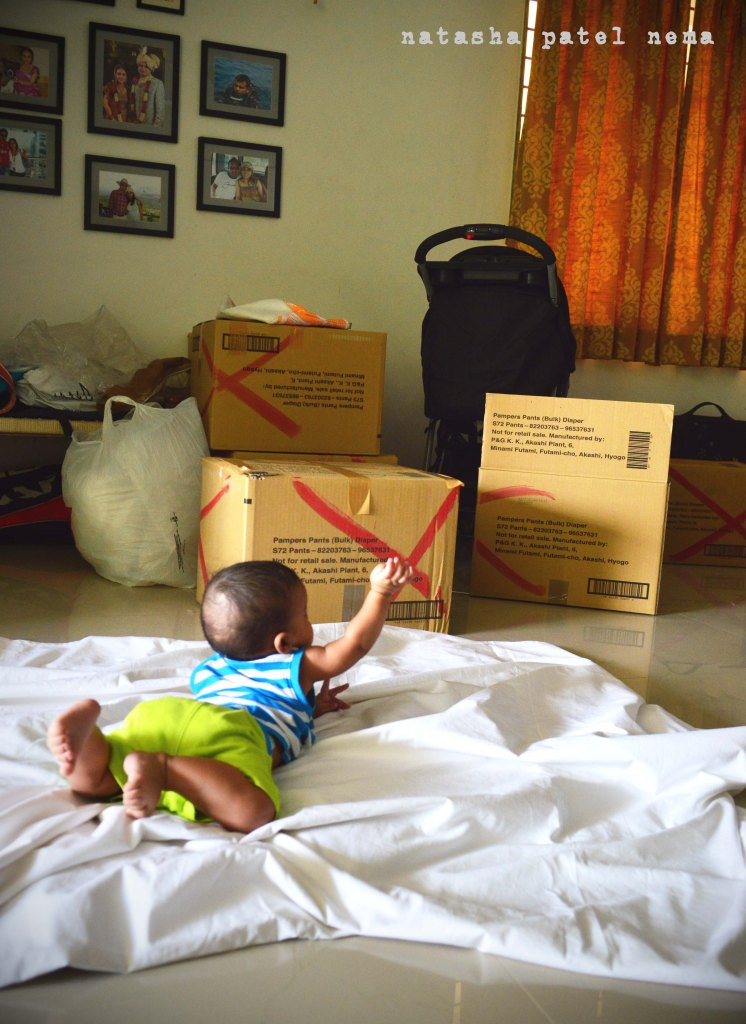 My son was supervising as I was packing..;-)