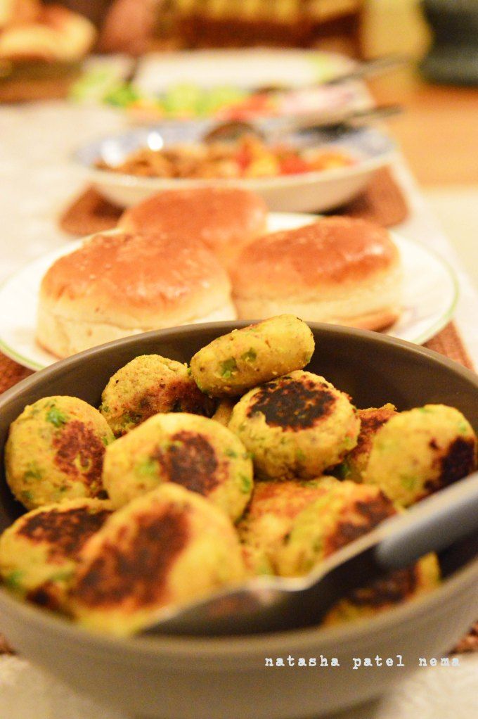 Burger Patties prepared by Raghu Mahraj. Raghu Mahraj cooks for us