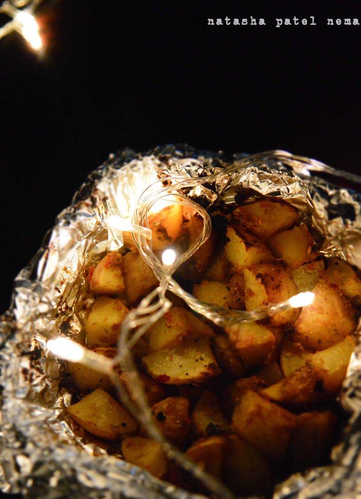 potatoes in chaumala sauce