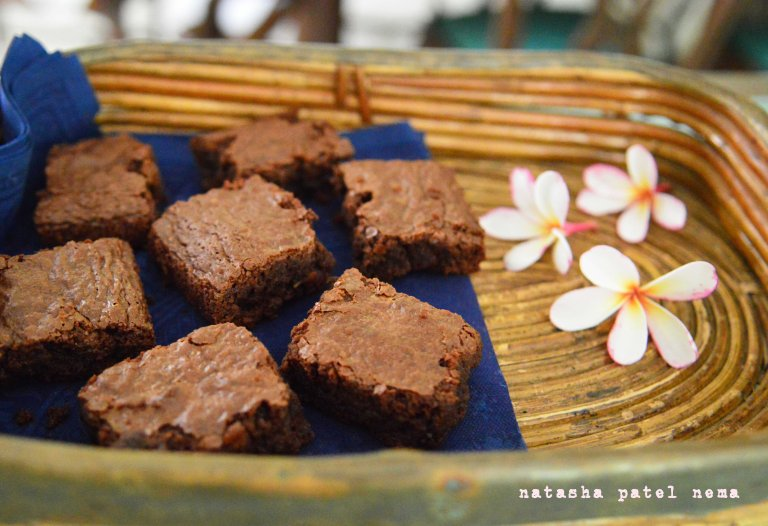 brownie from Nigela's kitchen