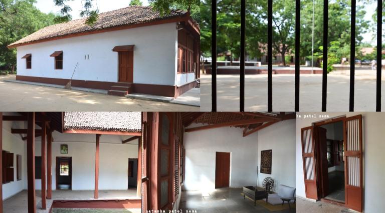 Bapu's house at his Ashram