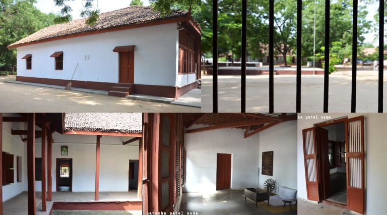 Bapu's house at his Ashram