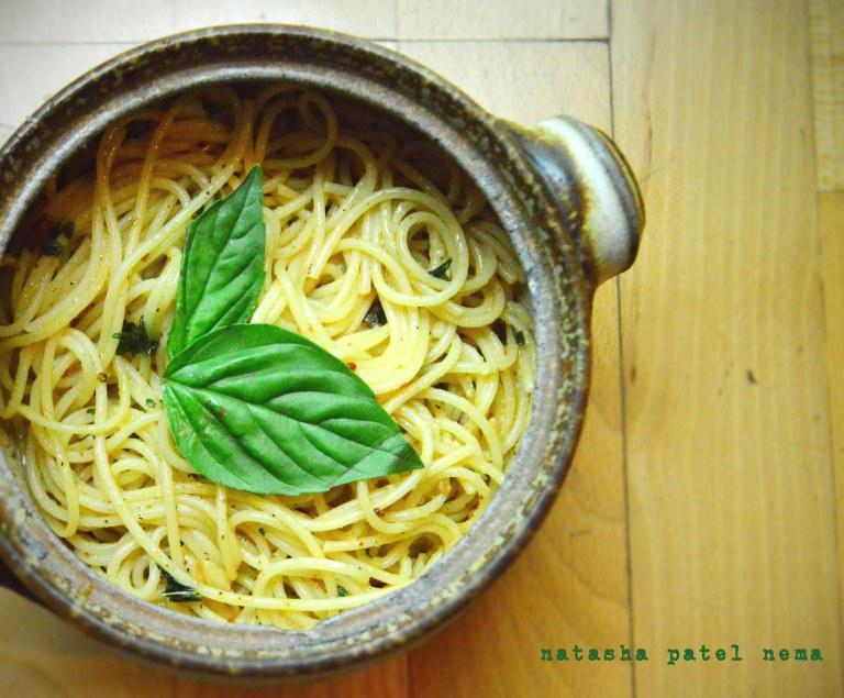 Spaghetti Oglio Olio
