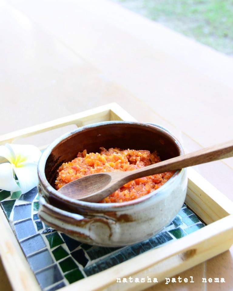 Maa ka pyaar ( mom's love in a bowl)