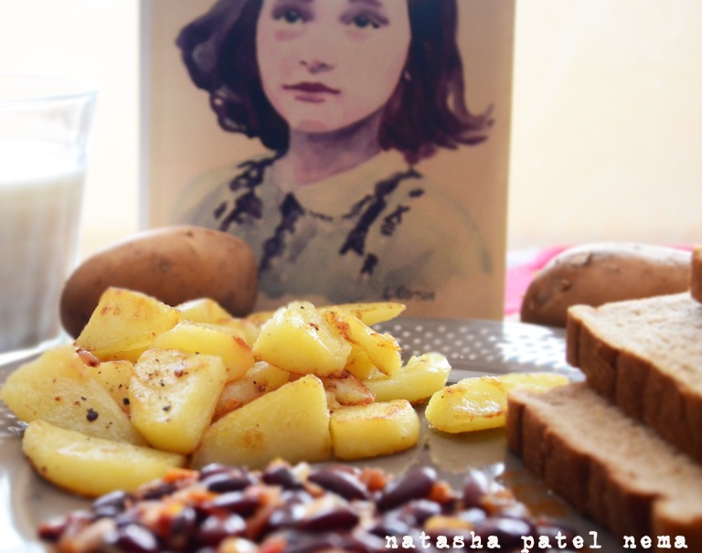 Potatoes, Annie's day work was peeling potatoes which they had for breakfast everyday